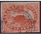 SG18. 1857 3d Red. Choice used with rich colour and large...