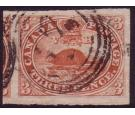 SG18. 1857 3d Red. A stunning and highly collectable example...