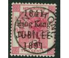 SG51. 1891 2c Carmine. Brilliant fine used...