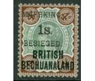 SG11. 1900 1s. on 4d Green and purple-brown. A beautiful fresh m