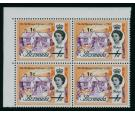 SG232w. 1970 1c on 1d 'Watermark Inverted' Error...