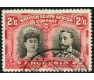 SG155. 1910 2/6 Black and lake. Superb fine used...