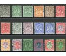 SG29s-46s. 1935 Set of 18. 'SPECIMEN'. Brilliant fresh mint...