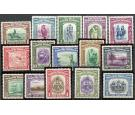 SG303-317. 1939 Set of 15. Brilliant fresh U/M mint...