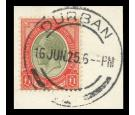 SG17a. 1924 £1 Pale olive-green and red. Fantastic used copy on