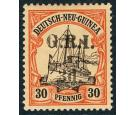 SG23. 1914 3d on 30pf Black and orange/buff. Choice superb fresh