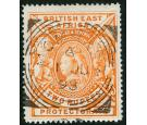 SG93. 1897 2r Orange. Superb fine used with beautiful colour and