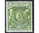 SG98. 1897 20r Pale green. A brilliant fresh mint...