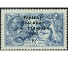 SG46. 1922 10/- Dull grey-blue. Superb fresh well centred mint..