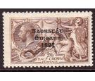 SG64a. 1922 2/6 Chocolate-brown 'Major re-entry'. Beautiful fre
