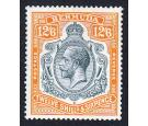 SG93d. 1932 12/6 Grey and orange. 'Break through scroll'. U/M mi