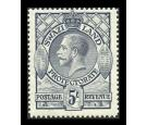 SG19. 1933 5/- Grey. Superb fresh mint...