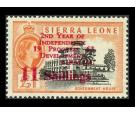 SG269. 1963 11s on £1 Black and orange. Superb fresh U/M mint...