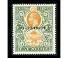 SG148s. 1923 £5 Orange and green. Brilliant fresh U/M 'Specimen'