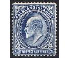 SG46b. 1912 2 1/2d Deep blue. Superb mint with excellent...