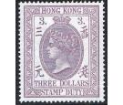 SG F5. 1902 $3 Dull mauve. Brilliant fresh well centred mint...
