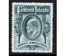SG49. 1904 3/- Green. Superb fresh well centred mint...