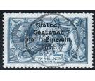 SG46. 1922 10/- Dull grey-blue. Brilliant fine perfectly centred