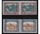 SG O10-O11. 1929 Set of 2. Brilliant U/M mint pairs...