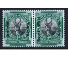 "SG45a. 1926 1/2d Black and green. ""Africa"" without stop. Superb"