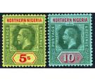 SG50-51. 1912 5/- and 10/-. Choice superb fresh mint...