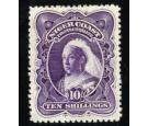SG74. 1898 10/- Deep violet. Choice superb well centred mint...