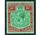 SG79. 1928 10/- Green and red/green. Choice superb fresh mint...