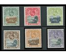 SG55-60. 1903 Set of 6. Choice superb fresh mint...
