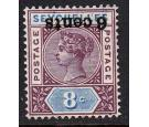 SG40a. 1901 6c on 8c 'Surcharge Inverted'. Brilliant U/M mint...
