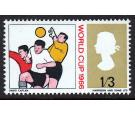 SG695a. 1966 1/3 Multicoloured. 'Blue' Omitted. U/M mint...