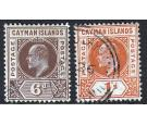 SG11-12.1905 6d Brown and 1/- Orange. Superb used...