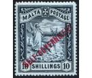 SG105. 1922 10/- Blue-black. Choice fresh well centred mint...