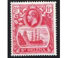 SG99a. 1923 1 1/2d Rose-red. 'Broken mainmast'. Choice fresh min