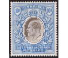 SG31. 1907 10r Grey and ultramarine. Choice superb fresh mint wi