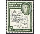 SG G1aa. 1946 1/2d Black and green. 'Extra Island'. Superb U/M m
