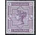 SG179. 1883 2/6 Deep lilac. Choice fresh perfectly centred mint.