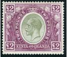 SG96. 1925 £2 Green and purple. Superb well centred mint...