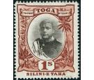 "SG50a. 1897 1/- Black and red-brown. No hyphen before ""TAHA"". Su"