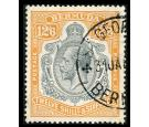 SG93. 1932 12/6 Grey and orange. Select superb fine well centred