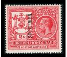 SG121s. 1921 2c Rose-red. Superb fresh 'SPECIMEN'...