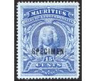 SG136s. 1899 15c Ultramarine. 'Specimen'. Superb fresh mint...