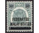 SG8. 1900 50c Green and black. Very fine well centred mint...
