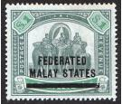 SG11. 1900 $1 Green and pale green. Superb fresh well centred...