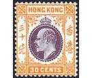 SG97. 1911 30c Purple and yellow-orange. Brilliant fresh mint...