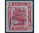 SG47. 1910 $5 Carmine/green. Brilliant fine well centred used...