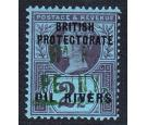 SG11. 1893 1/2d on 2 1/2d Purple/blue. Superb fresh mint...