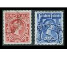 SG41-42. 1898 Set of 2. Both superb fine used...