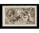SG399. 1913 2/6 Deep sepia-brown. Brilliant U/M mint...
