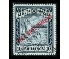 SG105 1922 10/- Blue-black. Superb fine used...