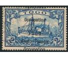 SG H11a. 1914 2m Blue 'Overprint Double'. Devastationally Rare..